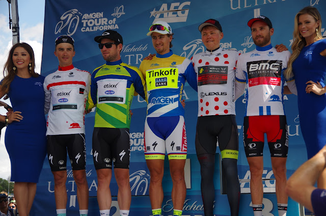 Podium 2015 Tour of California