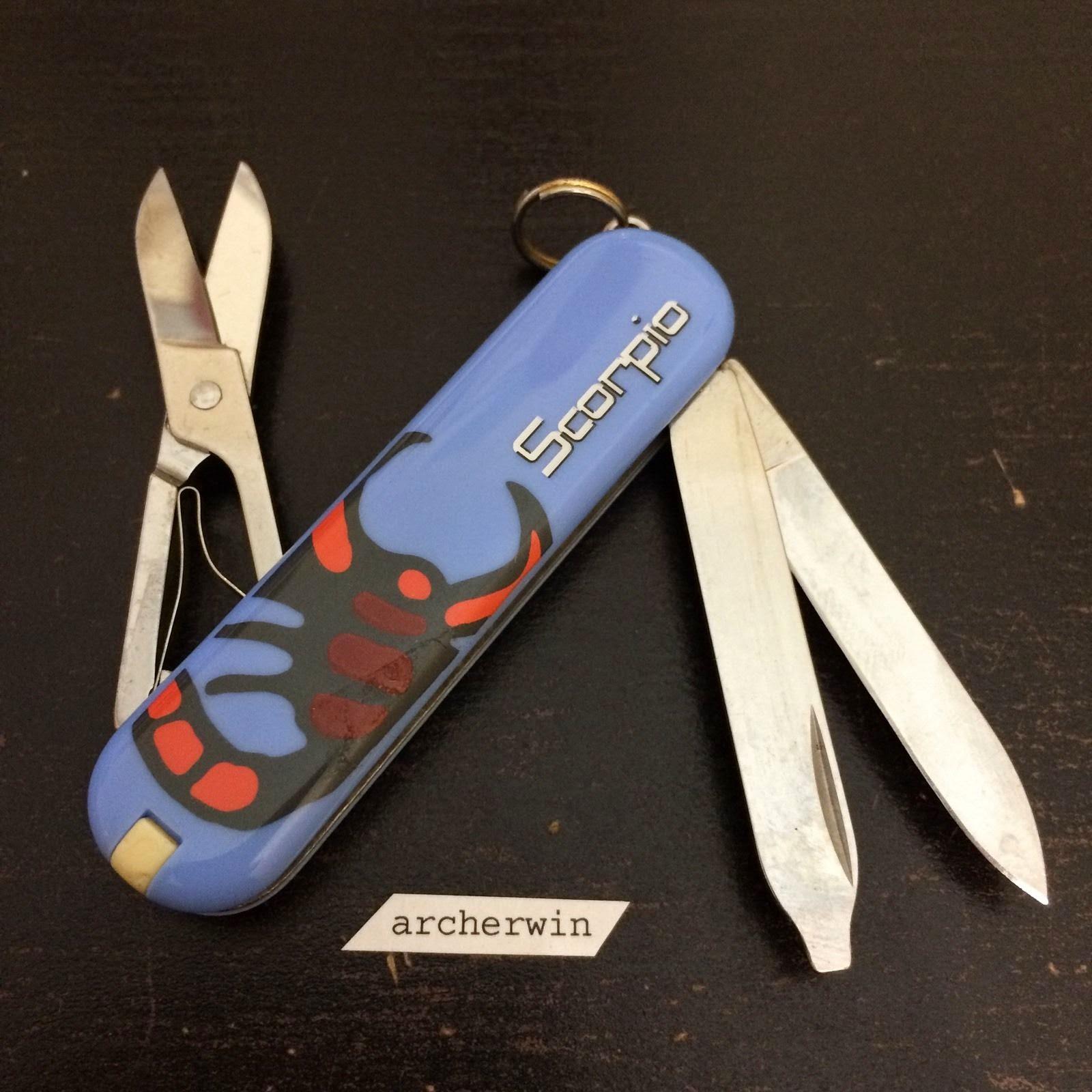 Archerwin S Swiss Army Knives Prints Victorinox Classic