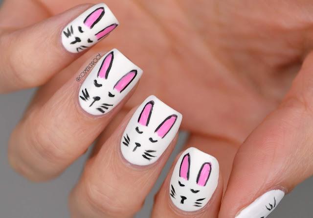Bunny Nail Art