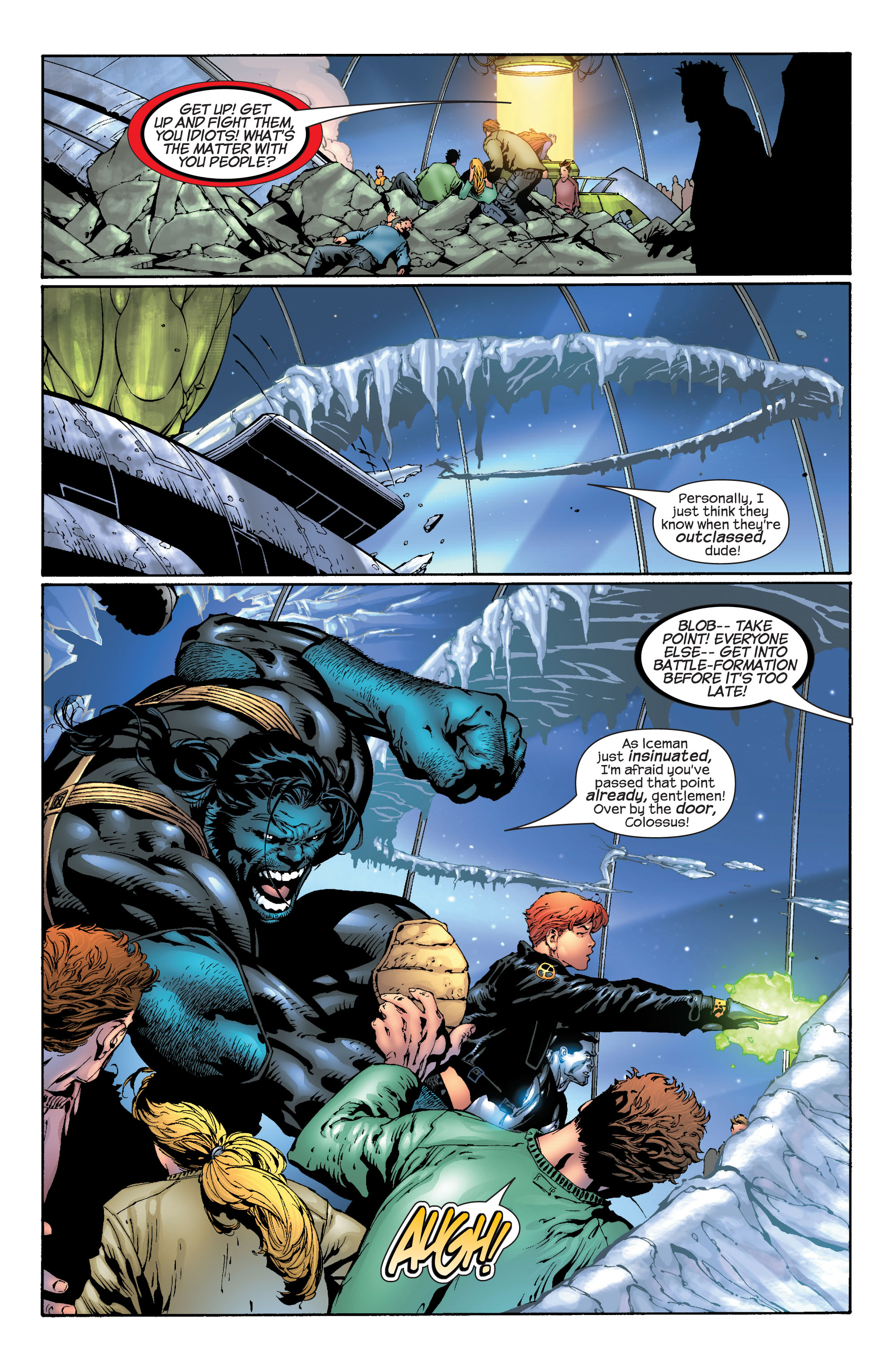 Read online Ultimate X-Men comic -  Issue #30 - 17