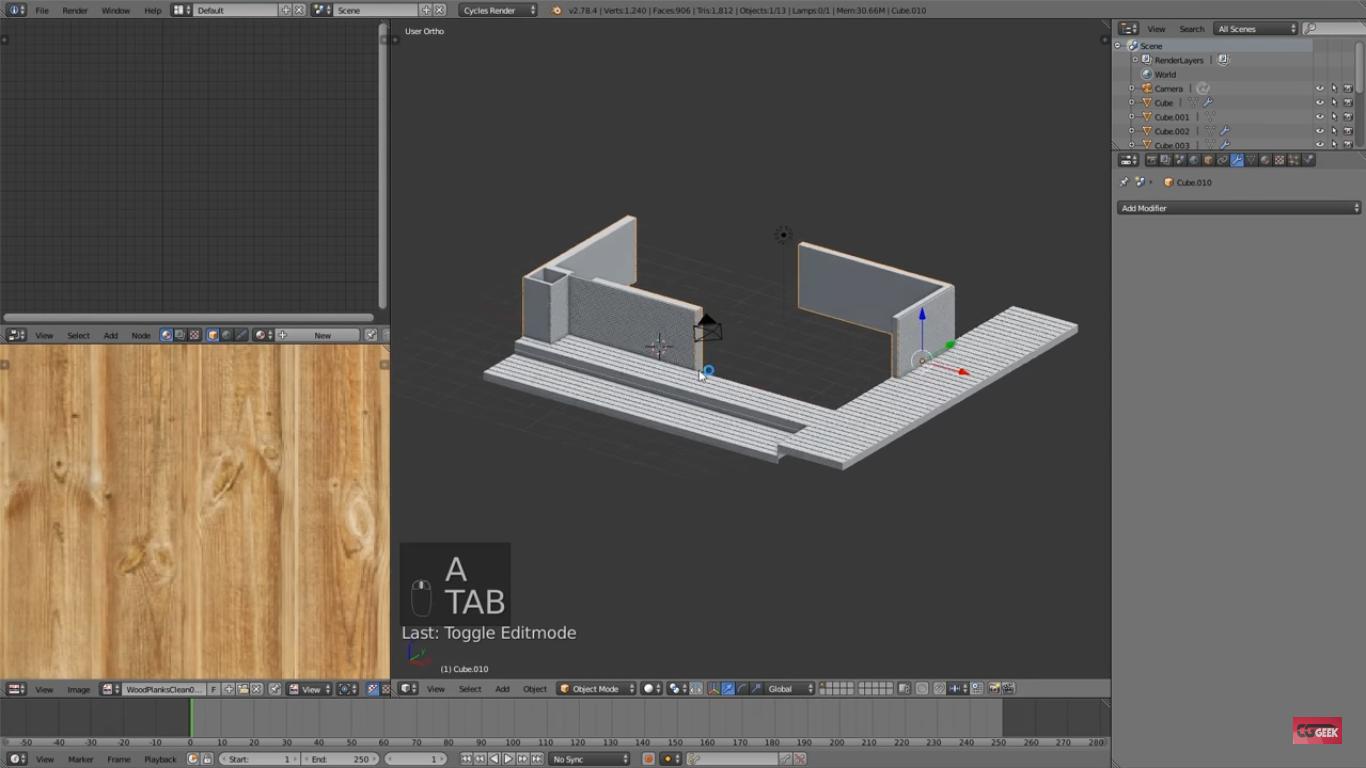 Create & Render A Modern House In Blender  | CG TUTORIAL