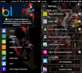 BBM MOD Deadpool V2.12.0.11 Apk Terbaru 2016