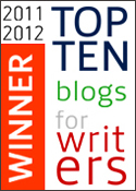 The Bookshelf Muse Makes The Top 10 Writing Blogs Writers