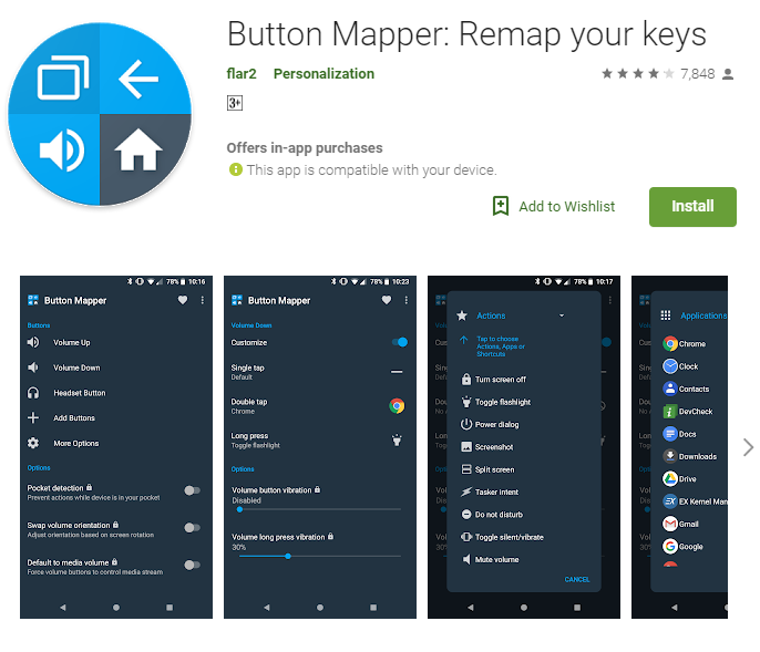 Install Button Mapper on your phone
