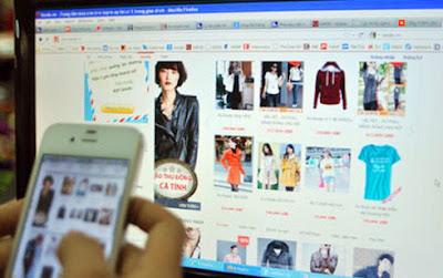 Bán hàng Online qua mạng