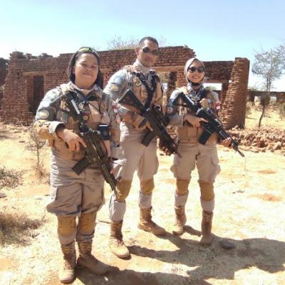 Polda Banten Kirim 2 Polwan Terbaiknya Dalam Penugasan Misi Internasional UNAMID di Sudan