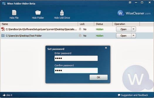 شرح تحميل أقوى برنامج لتشفير وإخفاء الملفات wise folder hider