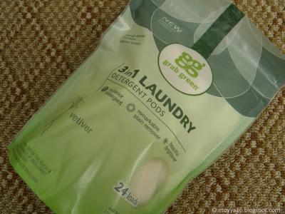 Стиральный порошок GrabGreen, 3 in 1 Laundry Detergent Pods