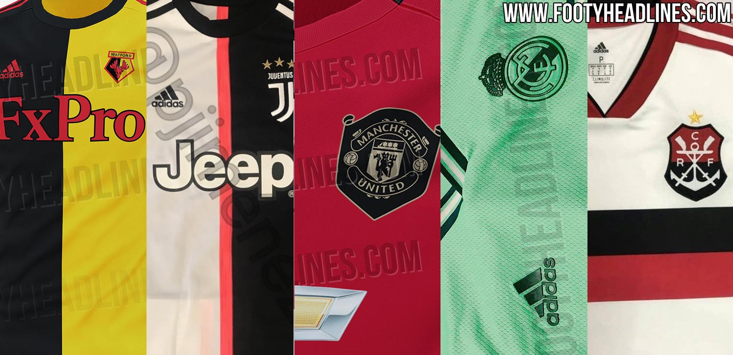 7c594d6128a ... season's Adidas 2019-2020 football kits, including some released. We  take a look at all Adidas 2019-2020 jerseys that have been fully leaked /  released.