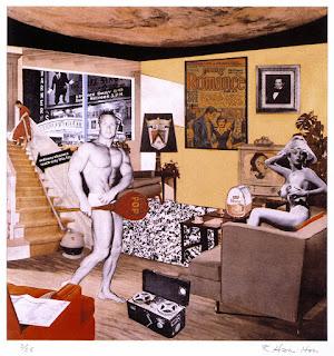 Richard Hamilton - ¿Qué tienen los hogares modernos que los hace tan diferentes, tan atractivos? (1956)