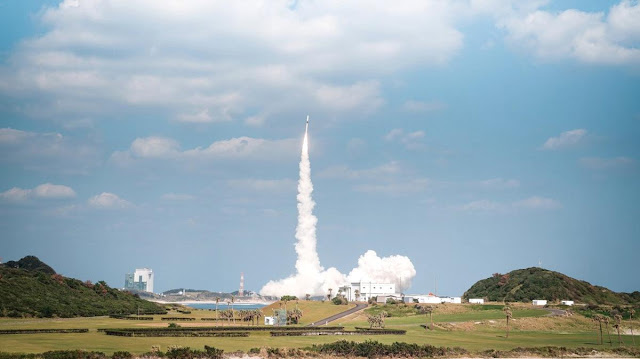 KhalifaSat successfully launches into space from Japan