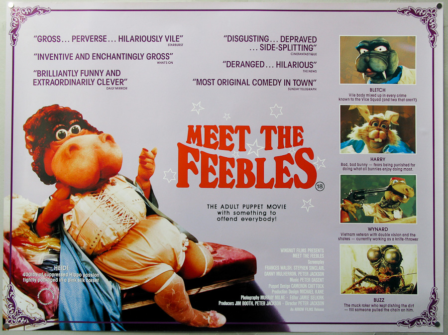 meet the feebles 1989 movie taylor