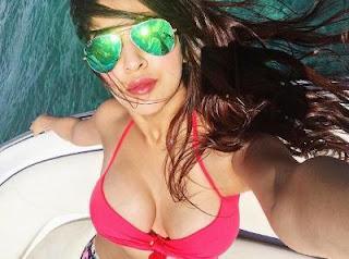 Sonarika Bhadoria in saansein bikini