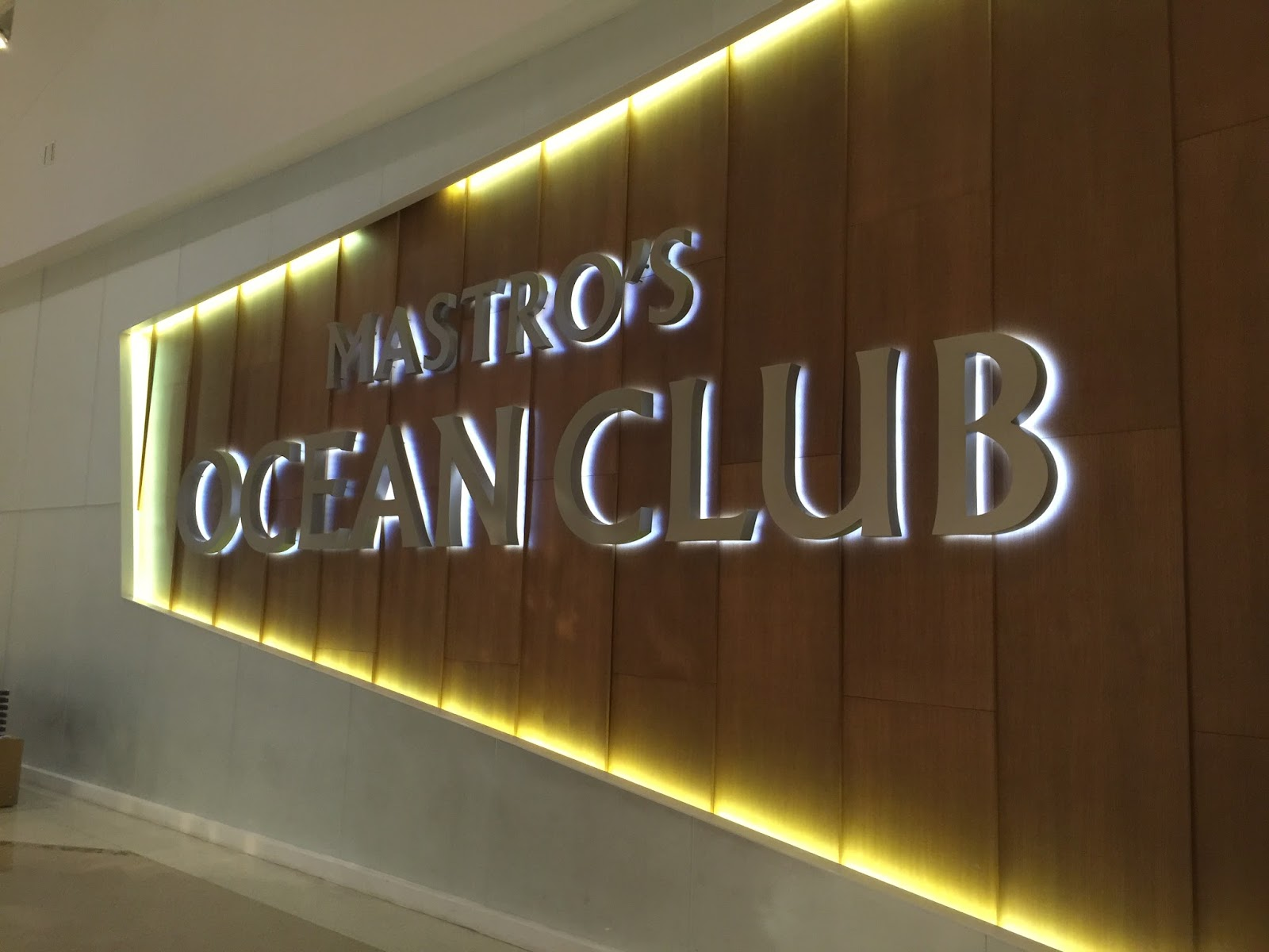 Mastro S Ocean Club Restaurant At Crystals City Center