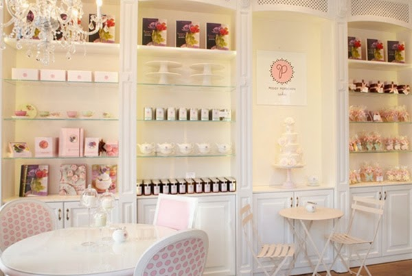 Peggy Porschen Cake Parlour and tea shop in London