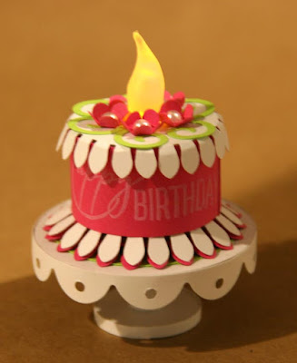 #tealight #clubscrap #birthdaycake #miniature