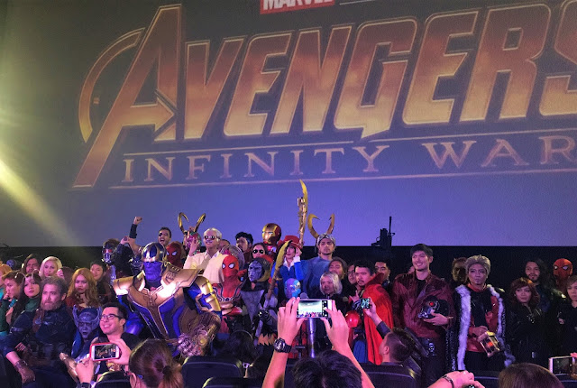 avengers infinity war sm cinema event