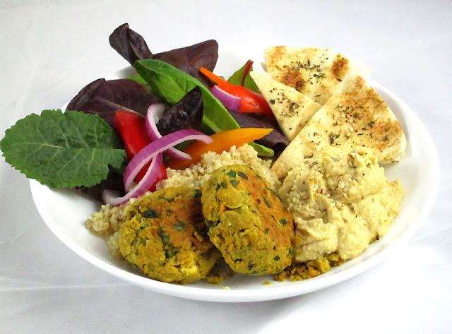 Middle Eastern Falafel Bowls