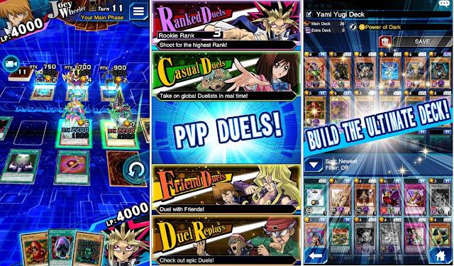 Download Yu-Gi-Oh Duel Links v1.2.0 Mod APK 2018