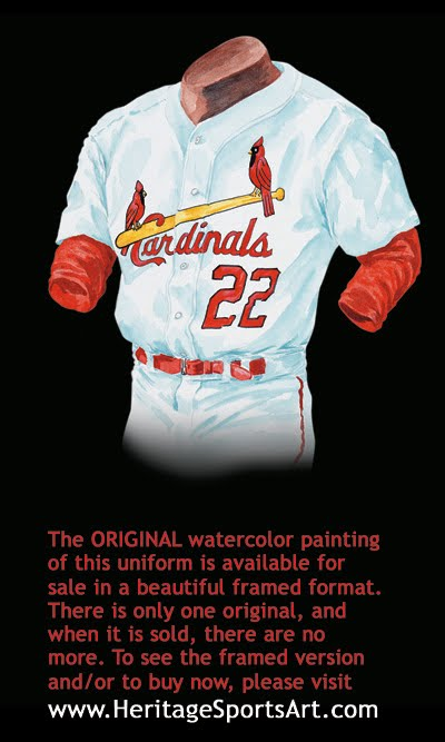 newest bd67b de6cc St. Louis Cardinals Uniform and Team History | Heritage ...