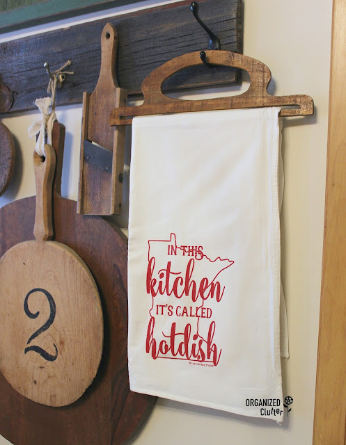 Minnesota Hotdish Dishtowel