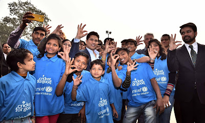 ICC Launches Team Swachh Campaign and Cricket For Good