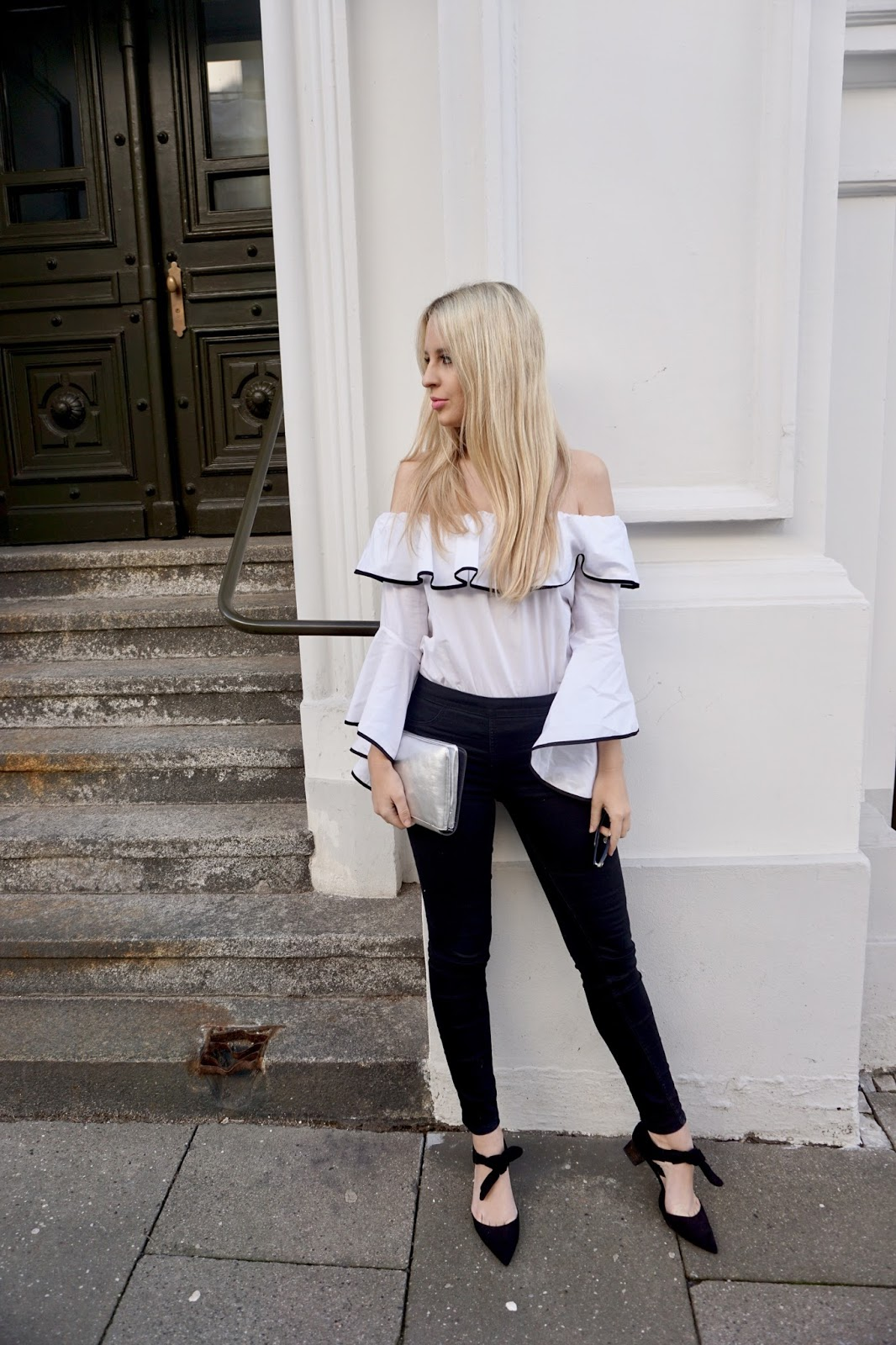 Off-The-Shoulder Bluse Theblondejourney-Östereich-Modeblog