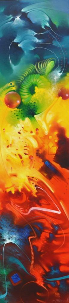 Cuadros modernos pinturas y dibujos cuadros horizontales y verticales modernos temas abstractos - Cuadros verticales modernos ...
