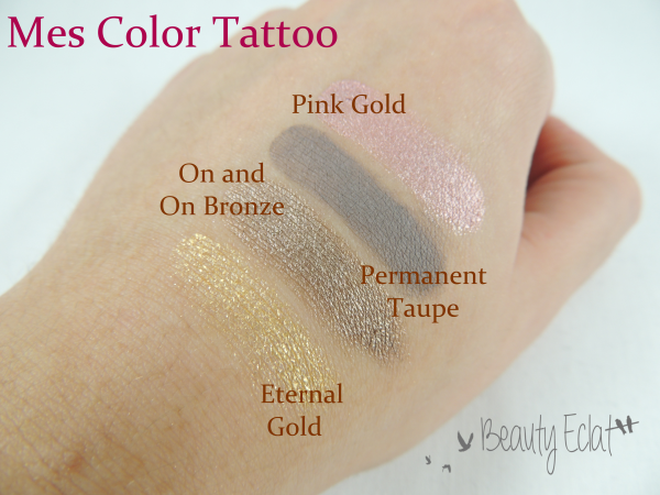 revue avis test color tattoo maybelline swatch eternal gold on and on bronze permanent taupe pink gold