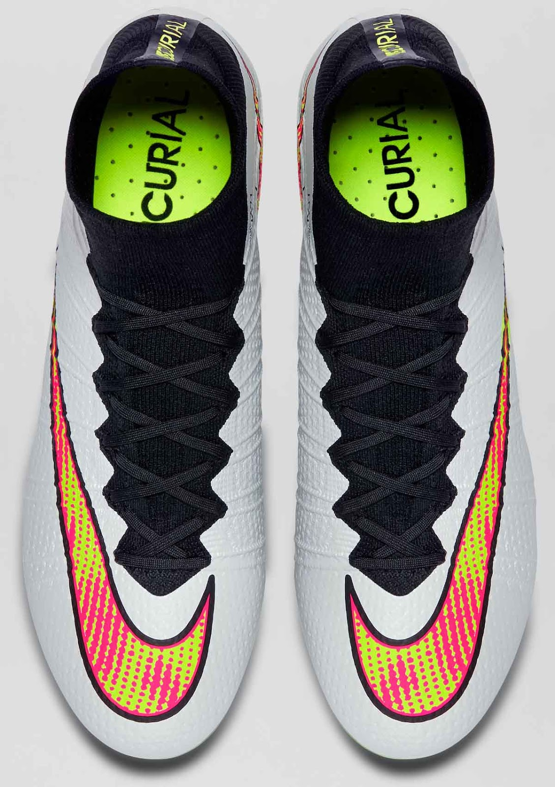brand new 7a8fe 1c5d7 discount nike mercurial superfly fg white volt black hyper ...