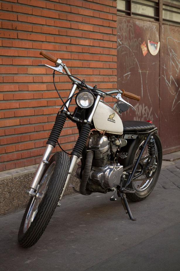 milchapitas kustom bikes yamaha sr125 by husz. Black Bedroom Furniture Sets. Home Design Ideas