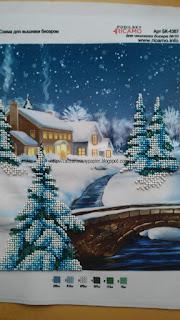Zimowy obrazek