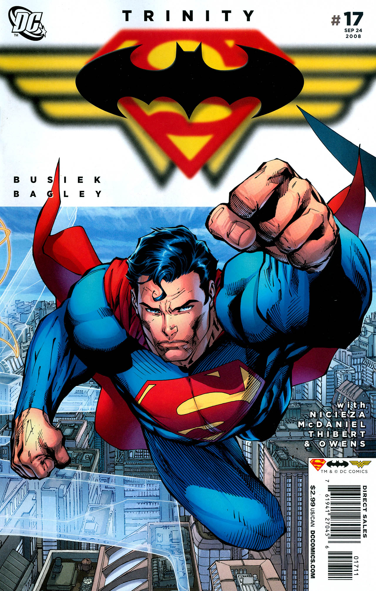 Read online Trinity (2008) comic -  Issue #17 - 1