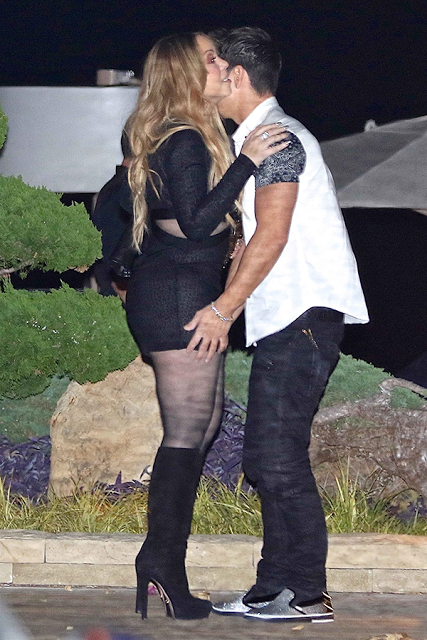 See what Mariah Carey was spotted in while out on a date