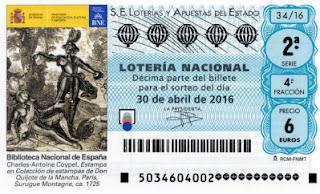 loteria nacional 30/04/2016