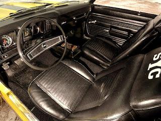 1969 Chevrolet Yenko Camaro Cabin Interior Picture