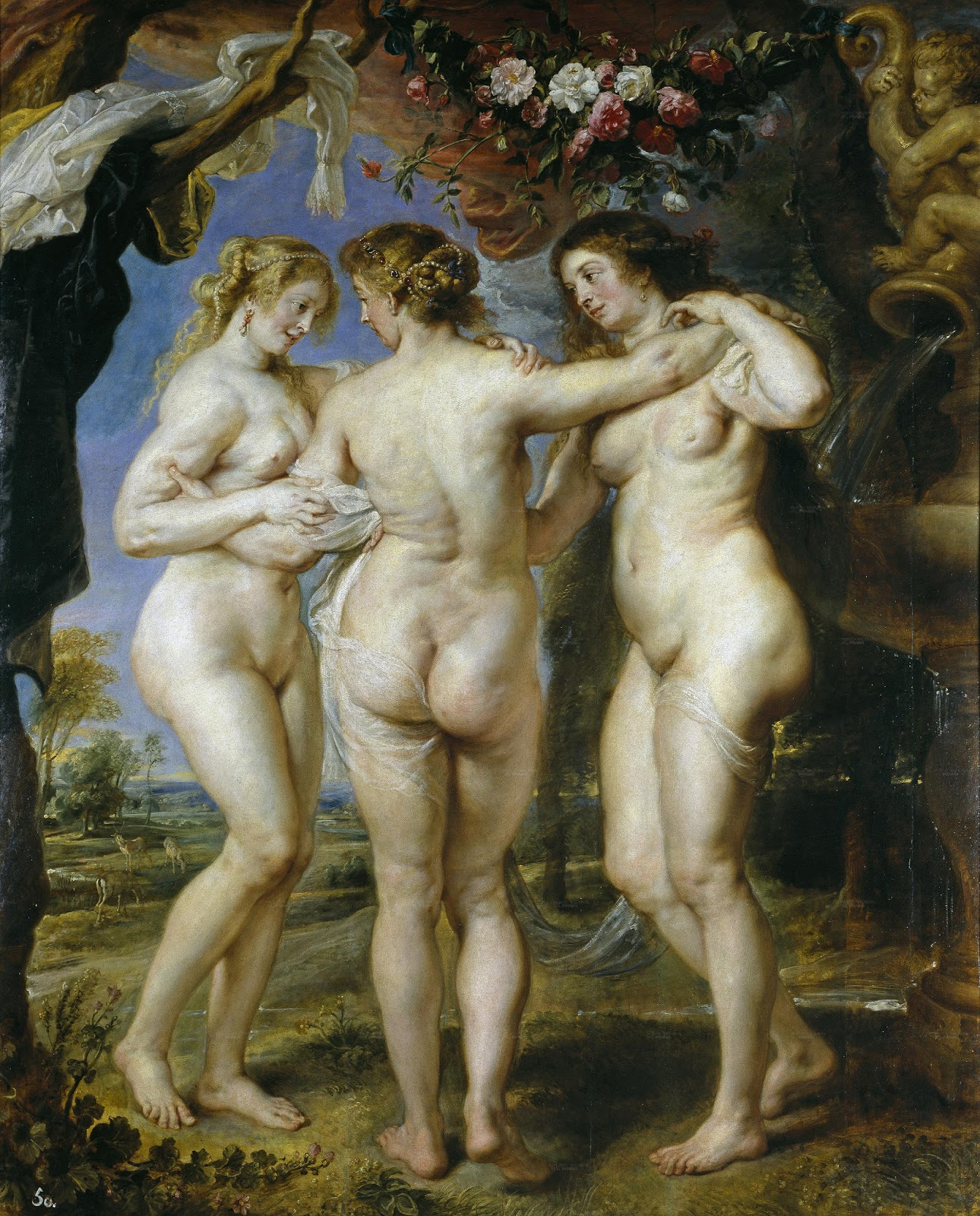 Relatively The Tobacco Pipe Artistory: Canova's 'The Three Graces': From  XF99
