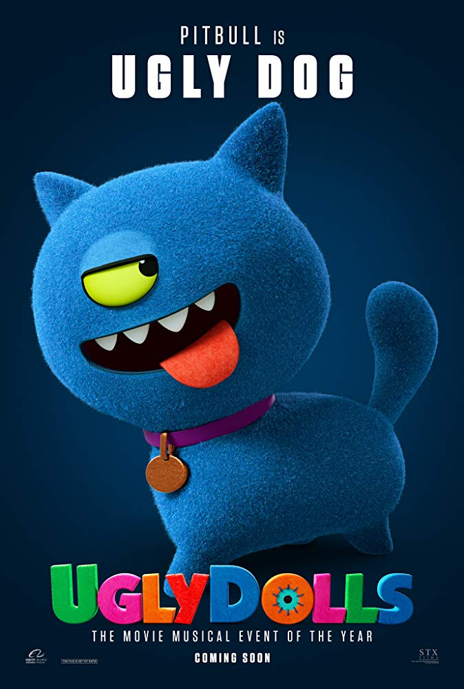 UGLY DOLLS: 2nd Trailer & Character Posters