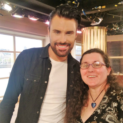 Rylan Clark-Neal at a This Morning event.