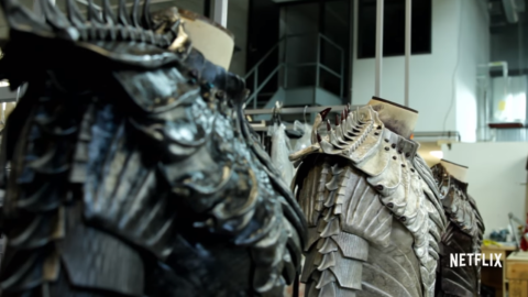 Costumi di scena che potrebbero appartenere ai Klingon della nuova serie Star Trek Discovery - TG TREK: Notizie, Novità, News da Star Trek
