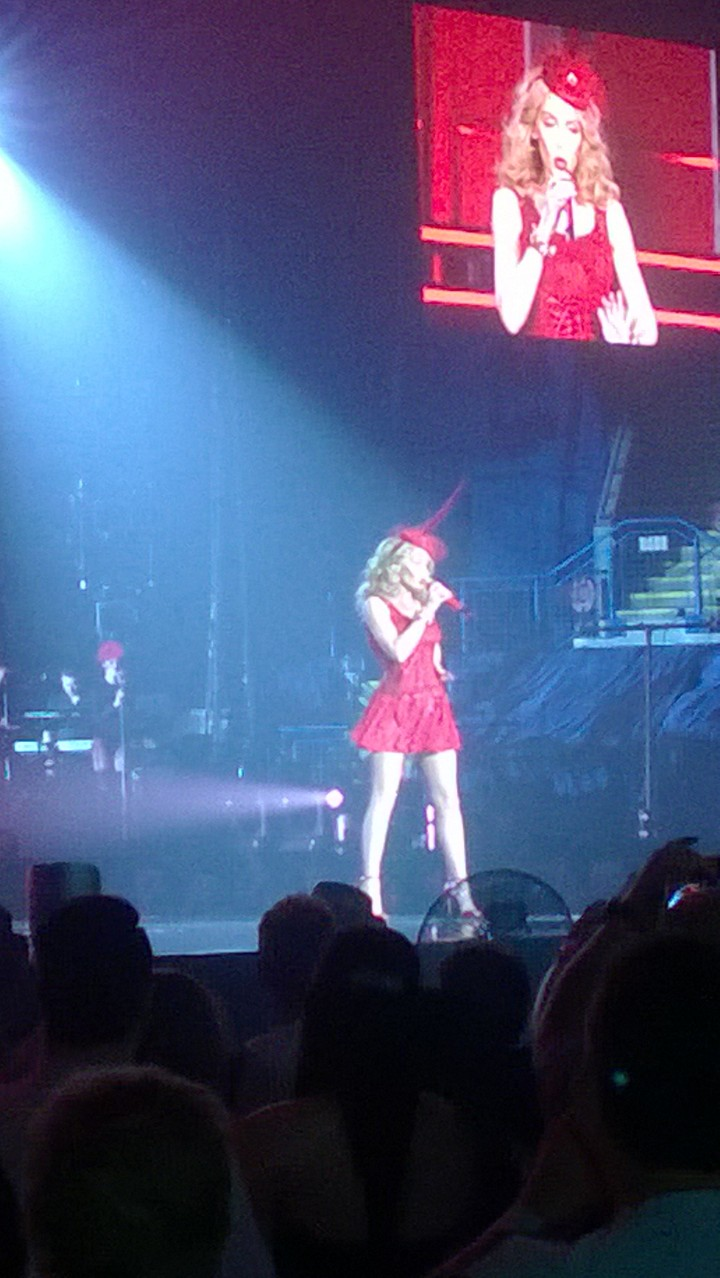 What I Wore: Kylie Minogue Concert