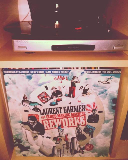 Laurent Garnier - The cloud making machine reworks (édition vinyle)