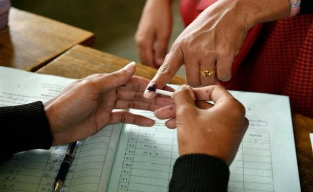 लोस चुनाव : आखिरी चरण के चुनाव में भी छिटपुट हिंसा, नौ सीटों पर 72.91 फीसदी मतदान