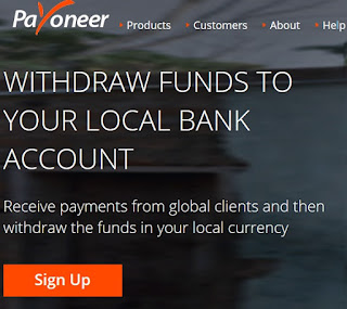 payoneer withdraw to bank service