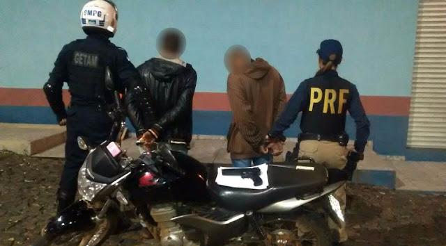 PRF e Guarda Municipal de Ponta Grossa (PR) realizam operação conjunta
