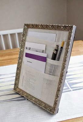 Proyecto DIY de porta papeles organizador