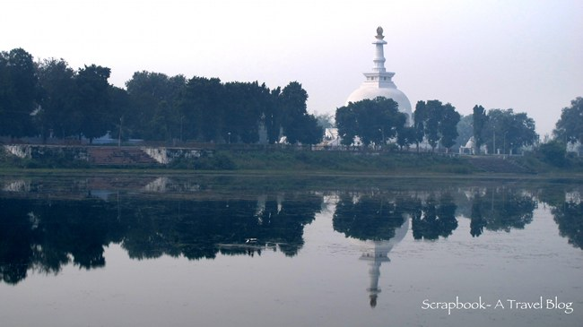 World Peace Pagoda and Coronation Tank Vaishali Bihar