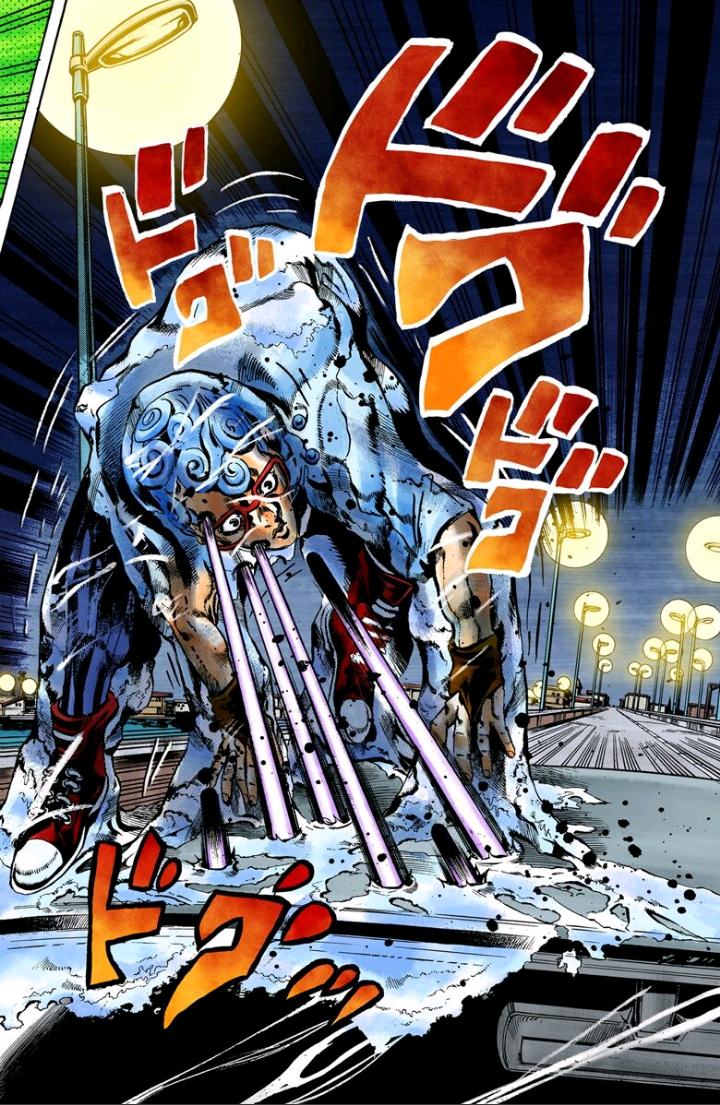 出典ジョジョの奇妙な冒険 第5部 カラー版 1 (ジャンプコミックスDIGITAL)