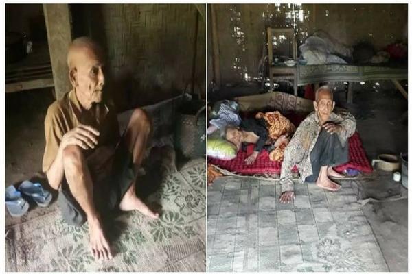 Kisah Haru 3 Lansia Renta yang Tinggal Satu Atap di Rumah Reot ini Bikin Hati Teriris