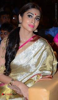 Actress Shriya Saran New Images in Silk Saree at Gautamiputra Satakarni Audio Launch  0026.jpg